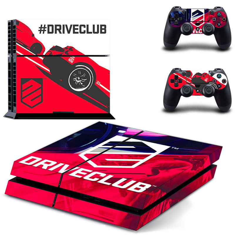 PS4 Polep Skin Driveclub