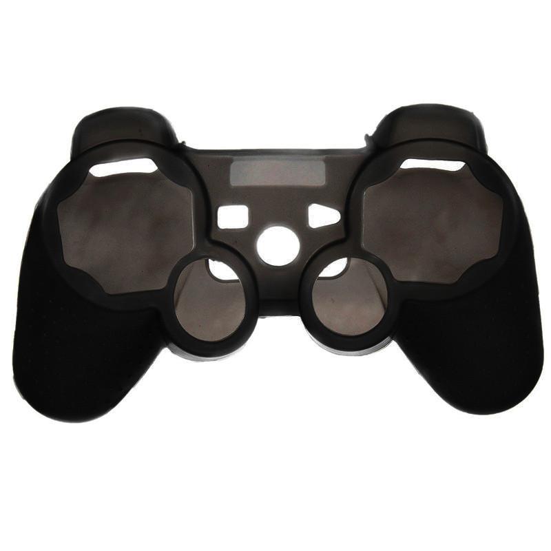Silikonový obal na ovladač (PS3) Barva: černý