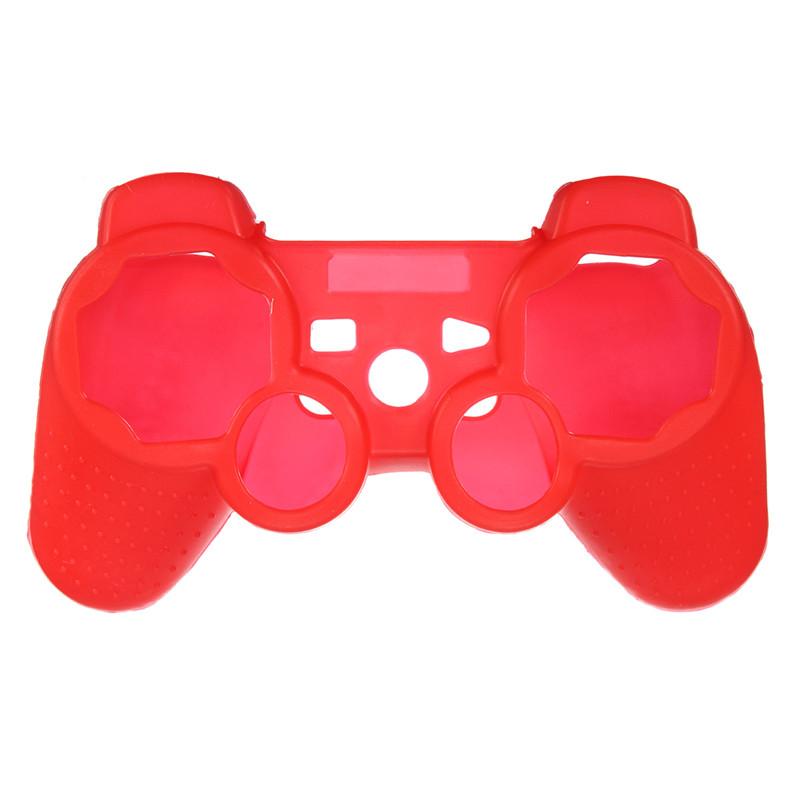 Silikonový obal na ovladač (PS3) Barva: červený