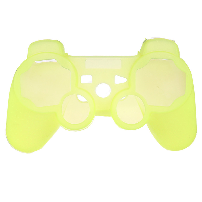 Silikonový obal na ovladač (PS3) Barva: žlutý