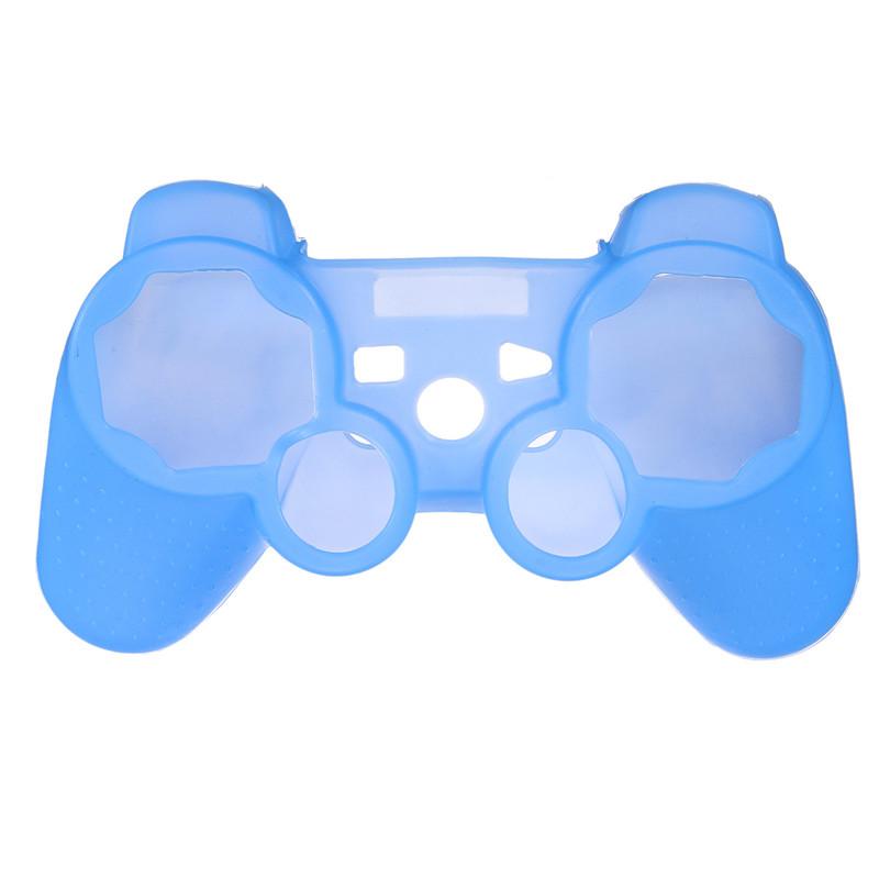 Silikonový obal na ovladač (PS3) Barva: modrý